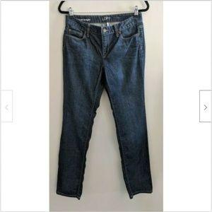 Ann Taylor LOFT Original Straight Jeans Size 28/6